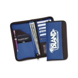 Document holders for sale to the travel industry